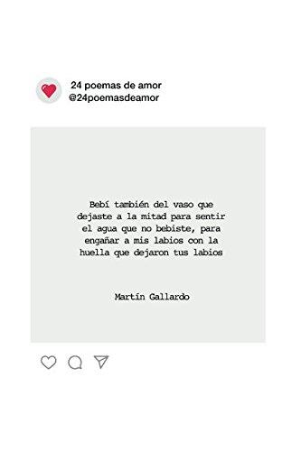 24 poemas de amor par Martin Gallardo