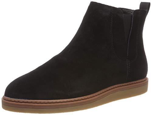 Clarks Damen Dove Madeline Chelsea Boots, Schwarz (Black SDE), 36 EU
