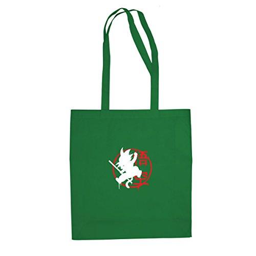 Dbz: Little Goku - Borsa Di Stoffa / Borsa Verde