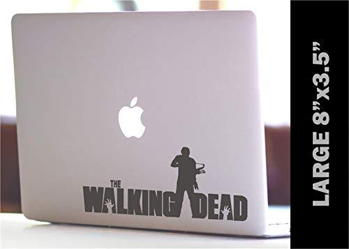 Wandtattoo Kinderzimmer Wandtattoo Wohnzimmer Auto Aufkleber Auto Aufkleber The Walking Dead Daryl mit Armbrust Custom Decal 20X8.75Cm