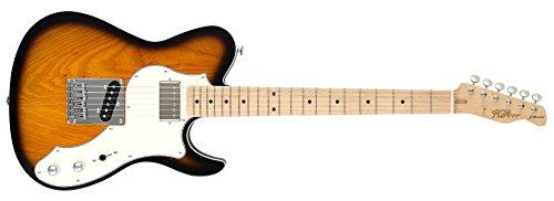 fgn j standard iliad FGN E-Gitarre, J-Standard Iliad, Custom, 3-Tone Sunburst, Tasche