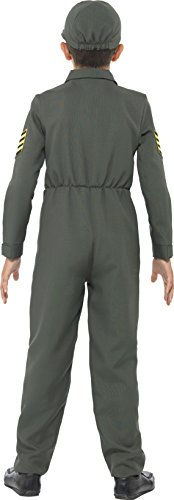 Imagen de smiffy's  disfraz de aviador para niños, color caqui 41091s  alternativa