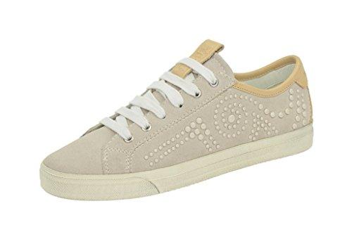 Geox D Prudence e, Sneaker Donna Grigio (grigio)