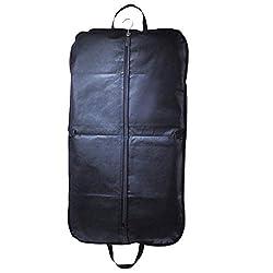 Faltbarer Kleidersack aus Vlies Kleideraufbewahrung Anzugtasche mit Praktischen Tragegriff und Reißverschluss