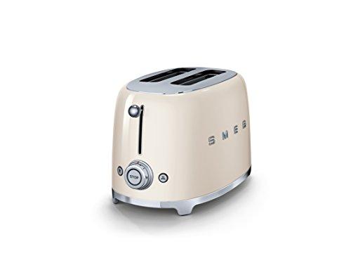 Smeg TSF01CREU 2slice(s) 950W Cream toaster – Toasters (2 slice(s), Cream, Stainless steel, 950 W, 220-240, 50/60) confronta il prezzo