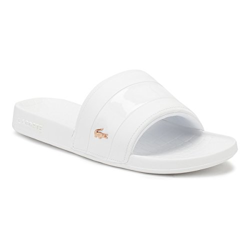 d8dadb03ecf0 Lacoste Womens White Pink Fraisier 118 2 Slides - Buy Online in UAE ...