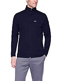 Finz Mens Jacket Full Sleeves with Reflector Brand Logo