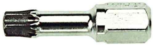 Wiha 71516 Wiha 71516 T10 by 25mm Torx Diamond Insert Bit by Wiha -