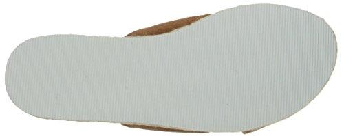 Nine West Amyas Suede Platform Sandal Natural