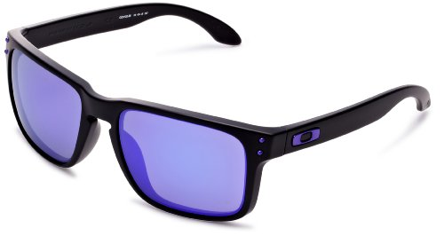 Oakley Holbrook 9102-26 matte black / violet iridium