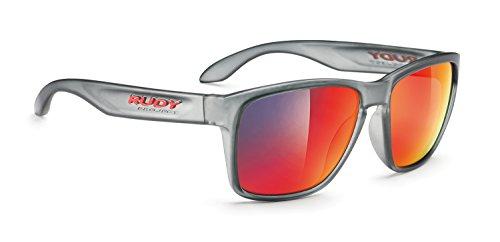 Rudy Project Spinhawk Glasses Frozen Ash/Multilaser Red 2017 Fahrradbrille