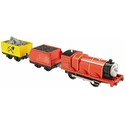 TRACKMASTER REVOLUTION - THOMAS THE TANK ENGINE - SCARED JAMES - TALES OF THE BRAVE