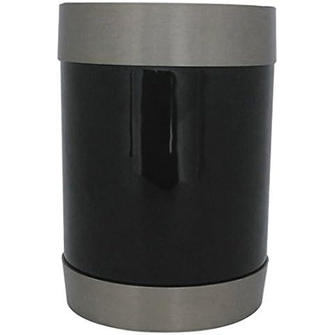 Latón urna funeraria de cenizas, con hojas de té urna
