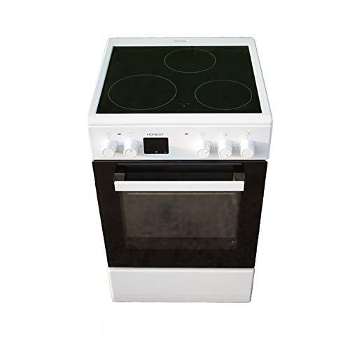 Cocina Vitroceramica HVG 3 fuegos mas horno electrico