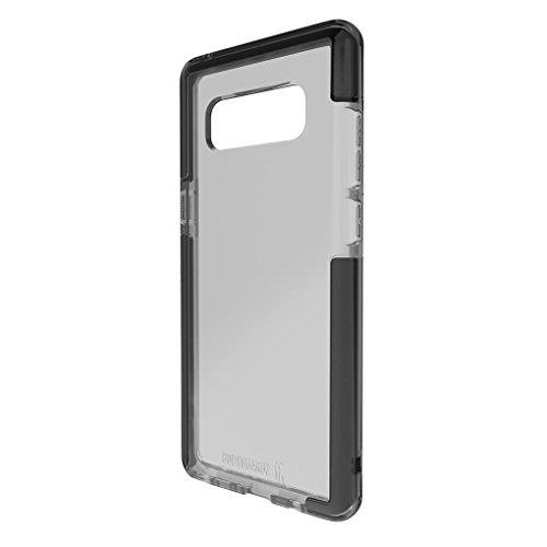 BodyGuardz Schutzhülle-Ace Pro Schutzhülle für Galaxy Note 8, Extreme Auswirkungen und Kratzschutz für Samsung Galaxy Note 8(Smoke/Schwarz) -