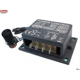 Unbekannt LEISTUNGSREGLER 110-240 V/AC, 4000 VA - 230v Dc-motor