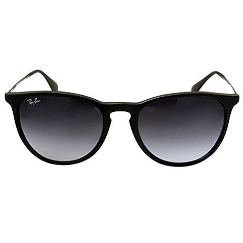 Ray Ban RB4171 622/8G Schwarz Unisex Sonnenbrille Erika Classic Sunglasses (Size 54mm)