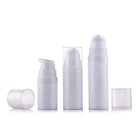 Flacons 5 Ml - Lot de 6 5 ml/10 ml/15 ml vide Blanc Portable Rechargeable