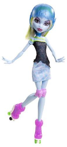 Mattel Y8349 - Monster High Rollschuh-Clique Abbey, Puppe