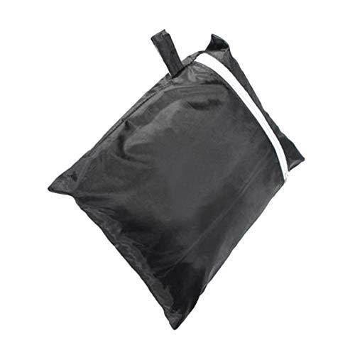 Heaviesk 57 Pulgadas de Lluvia a Prueba de Agua Barbacoa Cubierta Patio Gas Barbacoa Parrilla al Aire Libre para Gas eléctrico Parrilla de Barbacoa de carbón