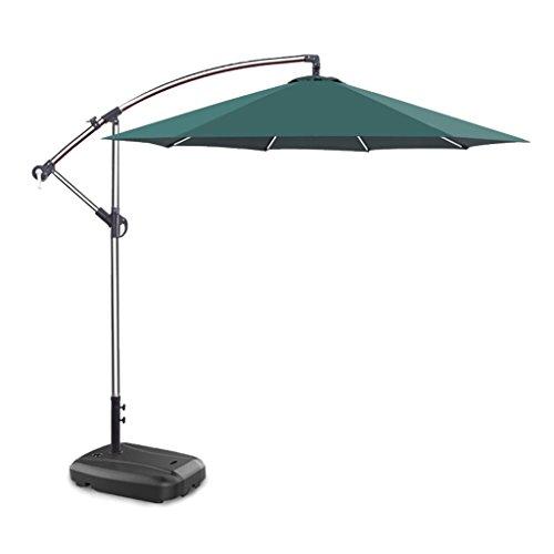 XC Sonnenschirm für den Hof Sonnenschirm für den Hof Aluminiumfalten-Sonnenschirm für den Außenbereich Sonnenschirm für Sonnenschirme, Regenschutz, winddichter Regenschirm Ohne Sockel
