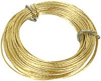 Brass Wire 2 Packs Of 6m. (12m) For Picture Hanging