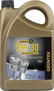 Olio Gruntek Gt Sintetico 5w30 4l Lubrificante...