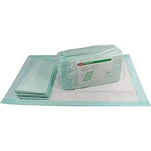 Ribocare 90 Stück Krankenunterlagen Wickelunterlagen Welpenunterlagen in Folie verpackt