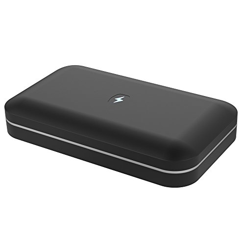 PhoneSoap 2.0: UV Sanitizer & Universal Charger - Now fits iPhone 6s Plus (Black)