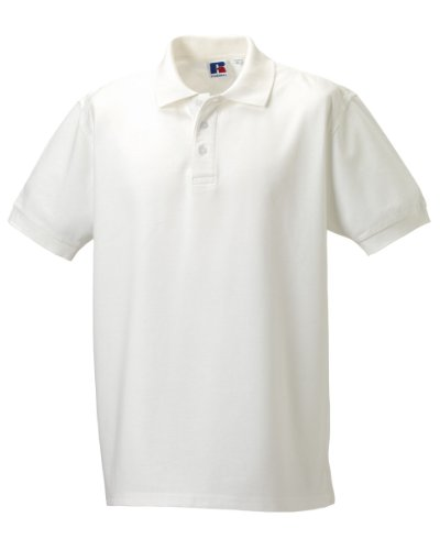 Russell Ultimate Cotton Polo Shirt Weiß