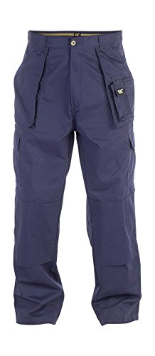 CAT Workwear Mens Workwear C820 Cargo Workwear Work Trousers (Flanell-capri-hosen Baumwolle)