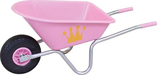 Greentower Kinderschubkarre,Fassungsvermögen:20 l,BxHxT:59x43x24cm,Farbe:Pink