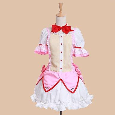 Puella Magi Madoka Magica Kaname Madoka Cosplay Kostüme Brauch(Mailen Sie uns Ihre Größe),Größe XXL:175-180 cm