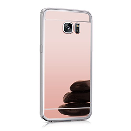 kwmobile-spiegel-hulle-fur-samsung-galaxy-s7-edge-tpu-silikon-case-handy-cover-schutzhulle-in-rosego