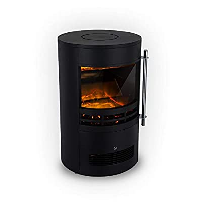 Klarstein St. Moritz Electric Fireplace Heater 1800W