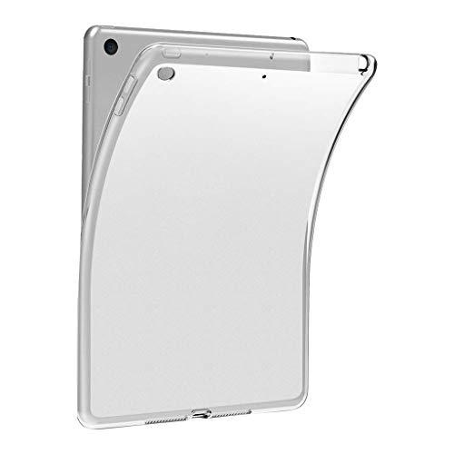 TwoCC Ultra Klare Transparente Weiche Silikon-Tpu-Kasten-Abdeckung für Ipad 10.2 7. 2019 -