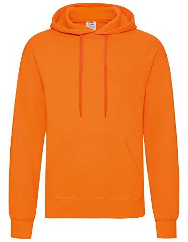 Fruit of the Loom - Kapuzen-Sweatshirt 'Hooded Sweat' XL,Orange