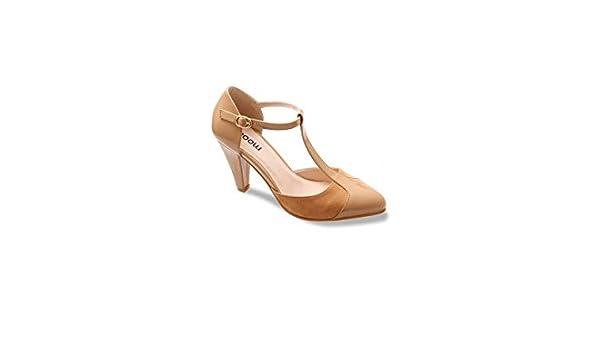 Moow Escarpins Salome Elegante: : Chaussures et Sacs