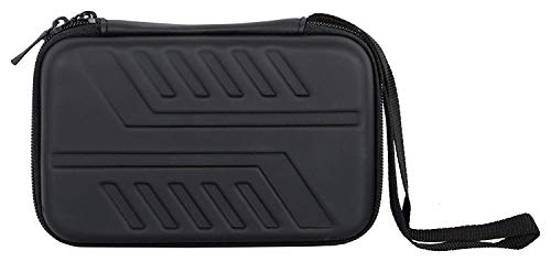Technotech Hddcase_16 HDD Hard Case/Cover/Pouch with Shockproof Lining for 2.5 inch Portable Hard Drive - Black (for Seagate, Toshiba, WD, Sony, Transcend)