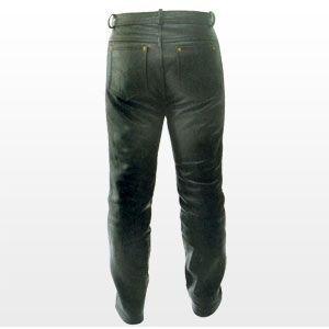 Lederhose Lederjeans Leather Jean Pant Nappa Gr. XXL (Zwei-knopf-jeans Gefütterte)