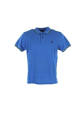 Polo Uomo Henry Cotton's Xl Azzurro 83295-50-84283 Primavera Estate 2016