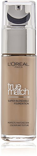 L'Oreal Paris True Match Foundation, 2.C Rose Vanilla, 30 ml