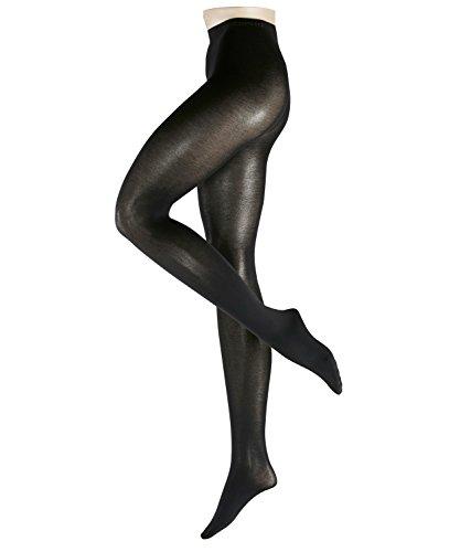 ESPRIT Damen Strumpfhosen 19406 Cotton TI, Gr. 38/40, schwarz (black 3000) -