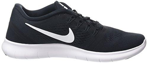 Herren Nike anthracite Schwarz Laufschuhe Free black white RN zwwOPq