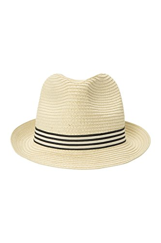 Mountain Warehouse Trilby Herren Strohhut Beige