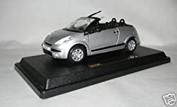 Bburago Citroen C3 Pluriel Silber 1:24 Modellauto [Spielzeug] [Spielzeug]
