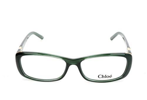 Chloé Damen CE2603 Chloe Brillengestelle, Grün, 55