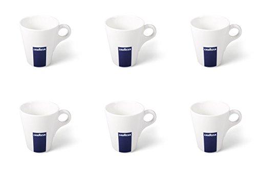 6 X Lavazza Kaffee / Cappuccino / Latte Tassen-Kapazität 10 Unzen