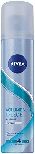 Nivea Extra Stark Haarspray, Volumen Pflege, Reisegröße, 1er Pack (1 x 75 ml)