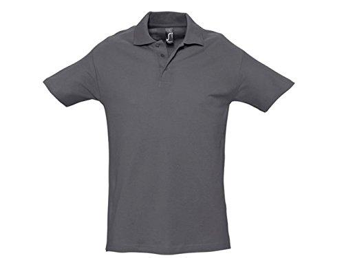 ATELIER DEL RICAMO Herren Poloshirt * Einheitsgröße Grau